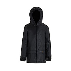 Regatta - Black kids stormbreak jacket