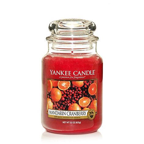 Yankee Candle - Large Mandarin Cranberry Housewarmer Candle