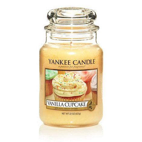 Yankee Candle - Large vanilla cupcake housewarmer candle