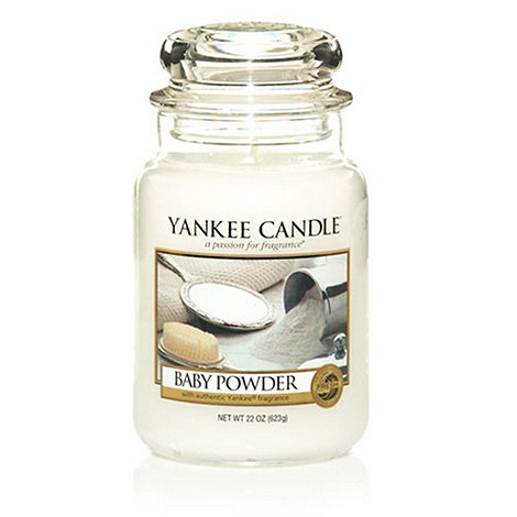 Yankee Candle - Large baby powder housewarmer candle