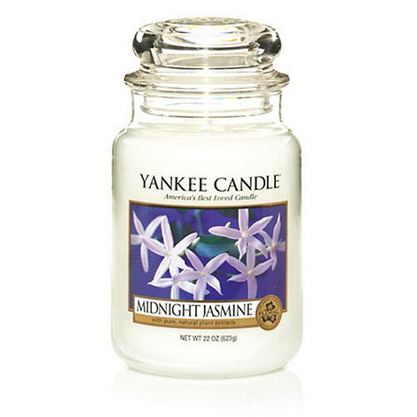 Yankee Candle - Large midnight jasmine housewarmer candle