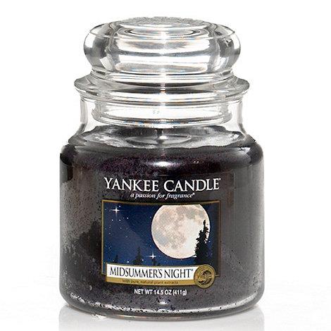 Yankee Candle - Medium midsummer+s night housewarmer candle