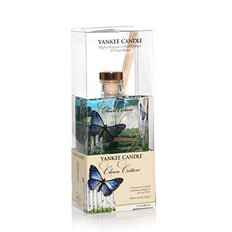 Yankee Candle - Reed diffusers clean cotton signature range