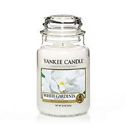 Yankee Candle - Large White Gardenia Housewarmer Candle