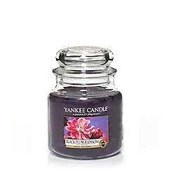 Yankee Candle - Medium black plum housewamer candle