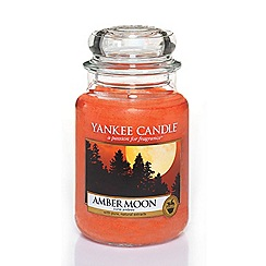 Yankee Candle - Amber moon large jar candle