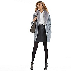 Oasis - Tweed cocoon coat