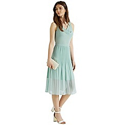 Oasis - Chiffon midi dress