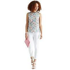 Oasis - Embellished placement t-shirt