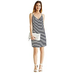 Oasis - Stripe v-cami dress