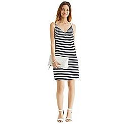 Oasis - Stripe v-cami dress