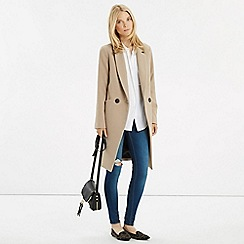 Oasis - Alex seamed db coat