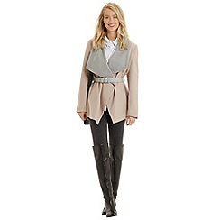 Oasis - Khloe belted drape coat