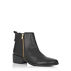 Oasis - Zip side ankle boots