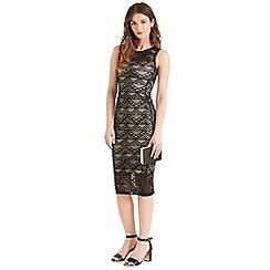 Oasis - Geo lace tube dress