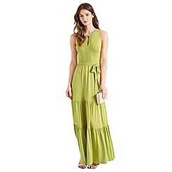 Oasis - Necklace halter maxi dress