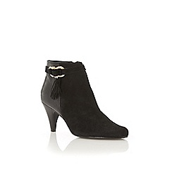 Oasis - Tassle heeled ankle boot