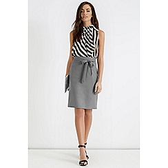 Oasis - Bonnie work wear skirt