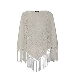 Oasis - Lace poncho
