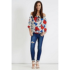 Oasis - Floral gypsy top