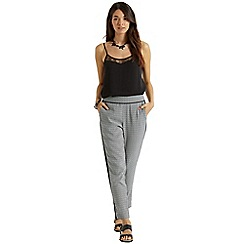 Oasis - Geo side stripe trouser