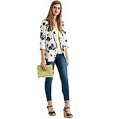 Oasis - Peony unstructured blazer