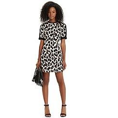 Oasis - Lulu leopard print shift