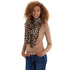 Oasis - Animal printed scarf