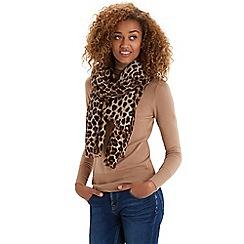 Oasis - Animal printed scarf