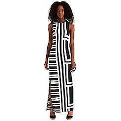 Oasis - Block stripe maxi dress