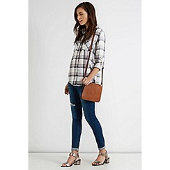 Oasis - Tori checked shirt