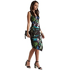 Oasis - Tropical fern print dress