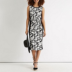 Oasis - Meadow sketch print midi