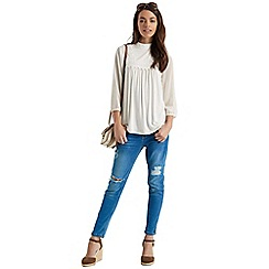 Oasis - Lace trim blouse