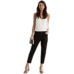 Oasis - Crop cotton trousers