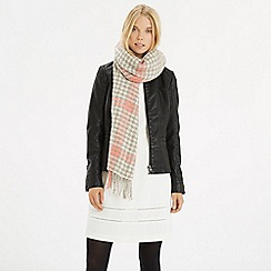 Oasis - Houndstooth Boucle Scarf