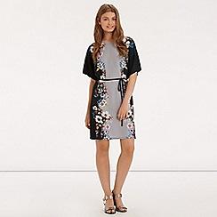 Oasis - Saphire placement kimono dress