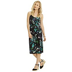 Oasis - Tropical print culotte jumpsuit