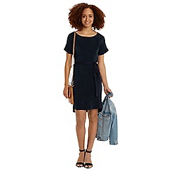 Oasis - Cupro shirt dress