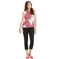 Oasis - Kyoto butterfly peplum top