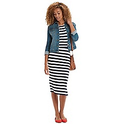 Oasis - Mixed stripe 2 for 1 dress