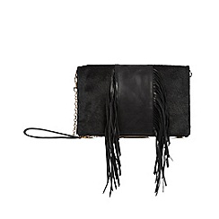 Oasis - Leather middle fringe felicity