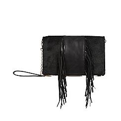 Oasis - Leather middle fringe felicity