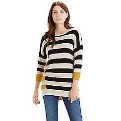 Oasis - Double stripe jumper