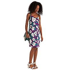 Oasis - Rain hibiscus print cami dress