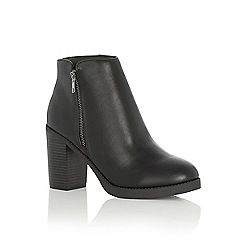 Oasis - Whitney side zip boot