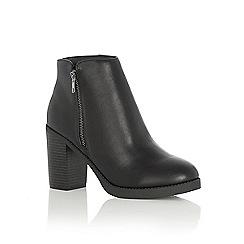 Oasis - Whitney side zip boot