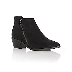 Oasis - Becky side zip ankle boot