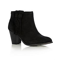 Oasis - Sienna suede tassel boot