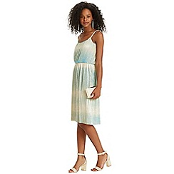 Oasis - Ombre Pleated Dress